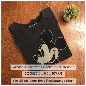 Forever 21 Disney Mickey Mouse Sweatshirt